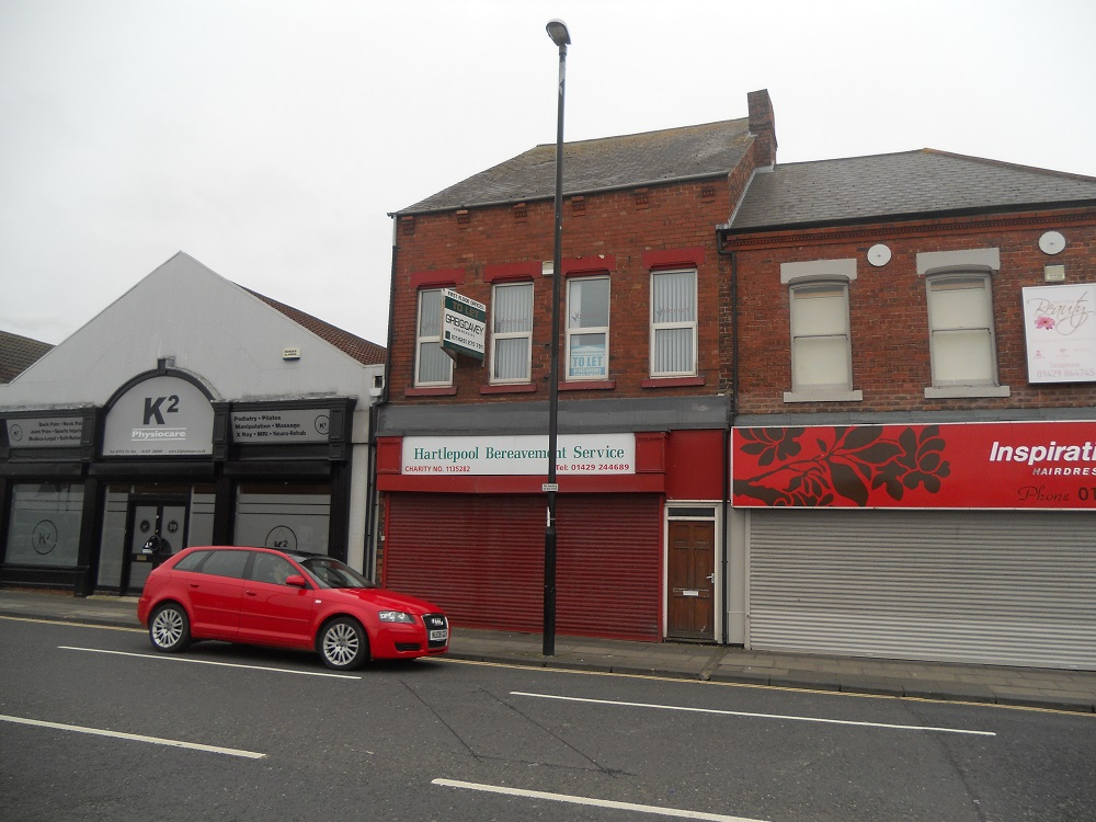 First Floor Offices – 41 Park Road, Hartlepool, TS24 7PW
