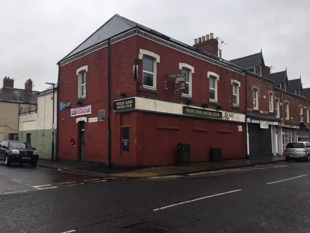 West End Social Club, 70-72 Murray Street, Hartlepool